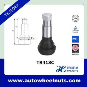 China TR413C Auto Accessory Tire Valve Stem For Car / Automobile Cold Resistant wholesale