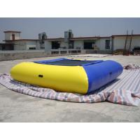 China Air Tight Inflatable Water Square Trampoline Water Toys For Water Sport Games wholesale