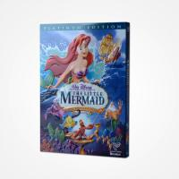 China The little Mermaid Platinum Edition DVD Classic Disney Movie Cartoon DVD For kIDS fAMILY on sale