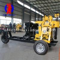 China New Condition and Water Well Usage rock drill Wheeled walking drilling rig/ mine core hydraulic rig wholesale