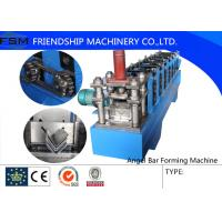 China Steel Angle Roll Forming Machinery For Roof Structure / Roll Forming Machine wholesale