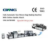 China Eco Bag Automatic Non Woven Bag Making Machine For Carry / Shopping Bag on sale