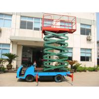 China 500Kg loading truck mounted scissor lift 7.5m Height wholesale