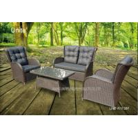 4 Piece Backyard Patio Set , Outdoor Garden Furniture Table And Chairs Manufactures