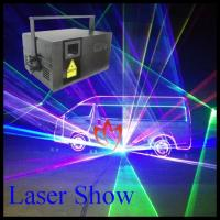 China XTRA 3.6 Watt 50Kpps Laser Stage Light 638nm Red With RGB Full Color on sale