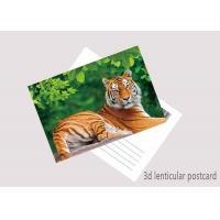 China Customized 3D Lenticular Postcard Printing For Holiday Decoration Gift wholesale
