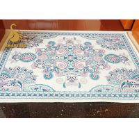 China PVC Dots Backing Cooking Anti Slip Floor Mats Needle Punched Non Woven Printed wholesale