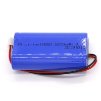 China Rechargeable CC CV MSDS 5200mAh Li Ion 3.7 V Battery wholesale