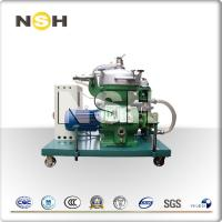 China Power Stations Centrifugal Oil Purifier , Diesel Fuel Centrifugal Separator on sale