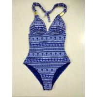Buy cheap thousands stock Spandex satin women colorful swimwear mixed size lady bathing from wholesalers