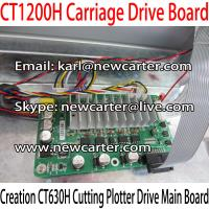 China Creation Vinyl Cutter Carriage Drive Board CT630H Cutting Plotter Board 1200 Main Board wholesale