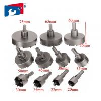 China 14 - 150 Mm Cemented Carbide TCT Hole Saw Apply To Steel Aluminum Iron wholesale