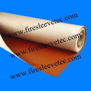 China 96 oz Silicone rubber fiberglass high temperature fabric wholesale