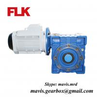 China Cast iron Worm speed reducer gearbox 1400rpm electric motor speed reducer wholesale
