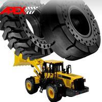 China APEX 26.5-25 Solid Tire, Cushion Tyre for Wheel Loader, Integrated Tool Carrier, Elevating Motor Scraper wholesale