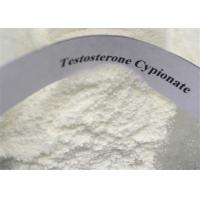 China Testosterone Anabolic Steroid White Powder Testosterone Cypionate / Test Cyp CAS 58-20-8 For Muscle Gaining wholesale