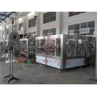 Quality Counter Pressure CSD Carbonated Drink Filling Machine / Soft Drink Bottling Equipment for sale