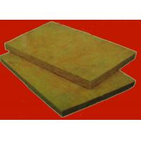China Exterior Insulation System Rock Wool Insulation Board / Sheet  Sound and Heat Insulated Material wholesale