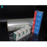 China PVC Packing Wrapping Film For Naked Cigarette Box Wrapping Replace Outer Box wholesale