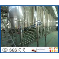 Quality Beverage Manufacturing Soft Drink Making Machine , Soft Drink Plant Machinery for sale