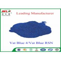 China High Stability Indigo Blue Dye Textile Dyeing Chemicals Water Resistant wholesale