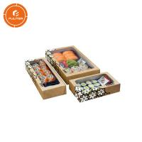 China Deluxe creative design of dried fruit packaging with plastic tray packaging gift box wholesale