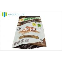China Customized 150g Tea Foil Lined bags for food , Plastic Zipper Pouches on sale