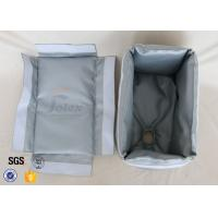 Buy cheap Removable 800℃ Fiberglass Insulation Jacket For Exchanger Pump Turbo from wholesalers