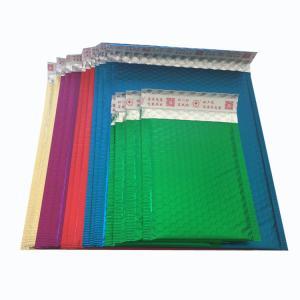 China Custom aluminum foil bubble envelope metallic mailers for shipping wholesale
