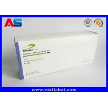 China Custom Pharmaceutical Packaging Box For 10pcs 2ml Amp Vials With Plastic Trays / Somatropin Pharma Box wholesale
