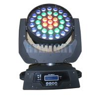 China 37x9W Zoom Led Moving Head Light , Moving Head Stage Lights For Large Concert wholesale