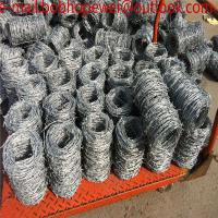 China Chot dipped galvanized weight of barbed wire per meter length/high tensile barbed wire price per roll wholesale