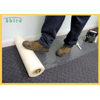 China Temporary Adhesive Carpet Protection Film 25-150 Mirons Carpet Protector Roll wholesale