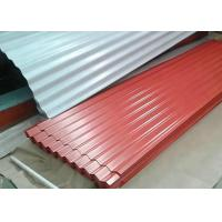 China PE / PVDF / SMP Galvanized Steel Sheet , 1000mm Width Pre Painted Steel Sheet wholesale