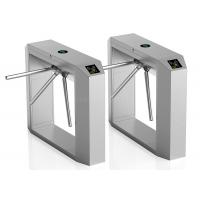 China RFID Card Reading Automatice Turnstiles With Three Arms Control wholesale