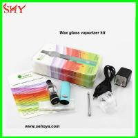 China Top selling pyrex glass clearomizer wax glass globe vaporizer Glass atomizer wholesale