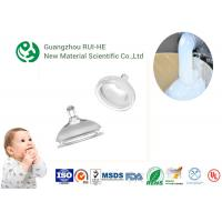 China ISO Nipple Liquid Silicone Rubber Food Grade RH5350 - 70 High Transparency for Baby Supplies wholesale