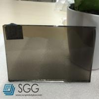 China 6mm Euro Bronze tinted float glass wholesale