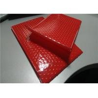 "China Apparel Packing Red Bubble Mailer Bag 12.5"" X 19"" #6 Padded Poly Mailers Waterproof wholesale"