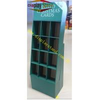 China Cardboard Display Stand Lattice Box for Christmas Card , Flexo Printing Display for Festival Promotion on sale