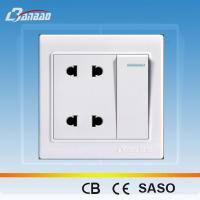 China LK4048 4 pin 86 type wall electrical socket on sale