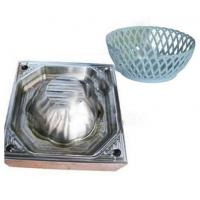 China Household Tpe Plastic Injection Mold Tooling High Polish For Plastic Drain Basket wholesale