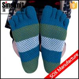 China Custom Athletic Non Slip Warmer Indoor Slipper Non Slip Yoga Socks wholesale