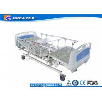 China 5-function Linak electric hospital bed with hand controller on sale