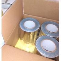 China Strong Adhesion Butyl Rubber Adhesive Tape Colorful Aluminium Foil Flashing Tape on sale