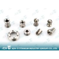China Pure Alloy Titanium Precision Parts , OEM Titanium Medical Screws wholesale