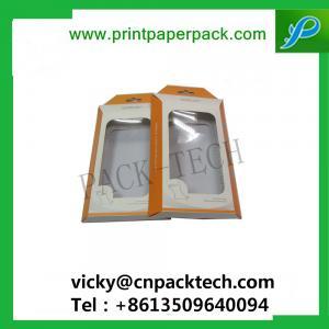 China Bespoke Folded Cosmetic Box Nail Polish Box Lip Balm Gloss Packaging Box Earphone Packaging Cardboard Box with PVCWindow wholesale