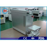 China 20w Portable Fiber Laser Marking Machine With Raycus Fiber Laser Source wholesale