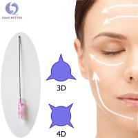 China Facial Screw Pdo COG Thread Lift Skin Absorbable Dissolvable Thread Lift wholesale