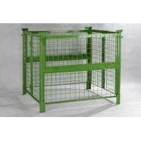 China 1000mm Width Steel Push Back Pallet Rack Pallet Container High Performance wholesale